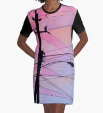 Wired Sky 2 Graphic T-Shirt Dress