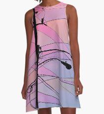 Wired Sky 2 A-Line Dress