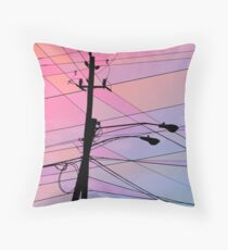 Wired Sky 2 Throw Pillow
