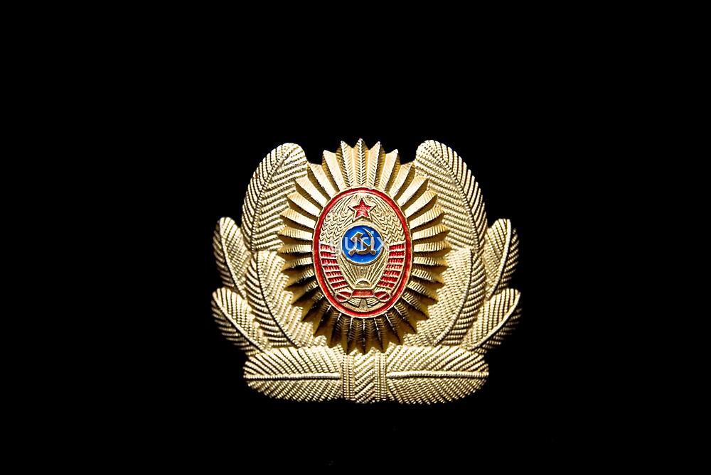 USSR officer cap badge by yurix