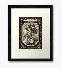 Steampunk JiuJitsu Framed Print