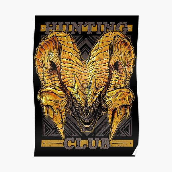 Club de chasse: Kulve Taroth Poster