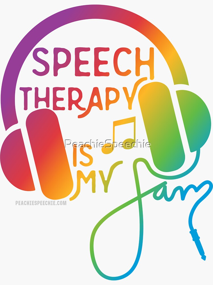 Speech Therapy is My Jam! © by Peachie Speechie ® by PeachieSpeechie