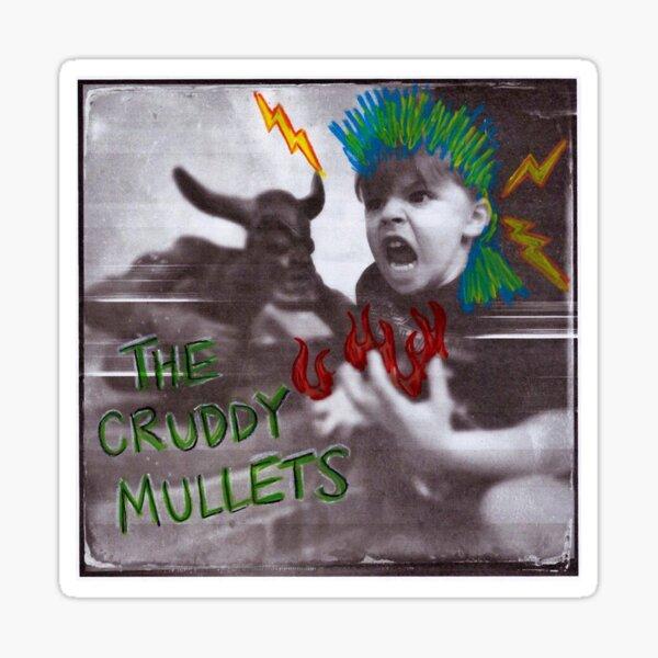 The Cruddy Mullets Album Cover Sticker