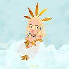 ANGELIC by JuditMallolArt