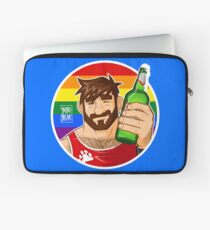 ADAM LIKES BEER - GAY PRIDE EDITION Laptop Sleeve