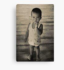 Thai child Canvas Print