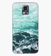 Blue Ocean Summer Beach Waves Case/Skin for Samsung Galaxy