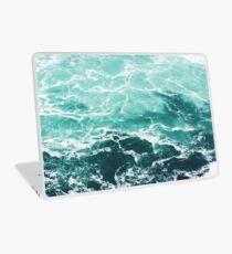 Blue Ocean Summer Beach Waves Laptop Skin