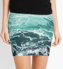 Blauer Ozean Sommer Strand Wellen Minirock