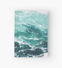 Blauer Ozean Sommer Strand Wellen Notizbuch