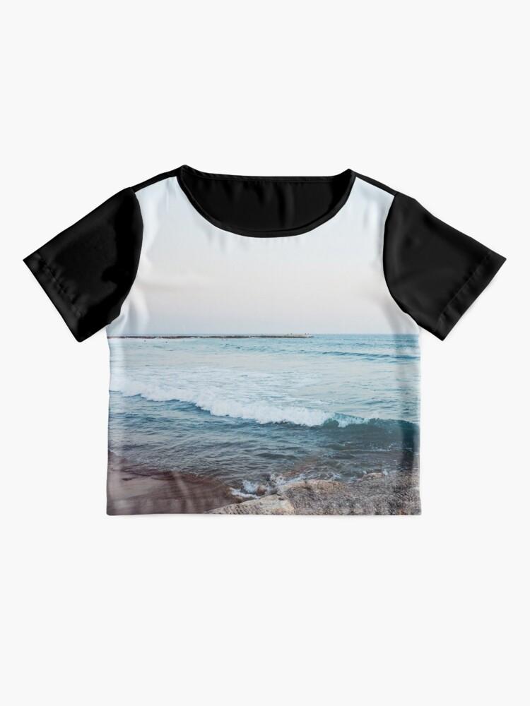 Alternate view of Calm ocean waves Chiffon Top