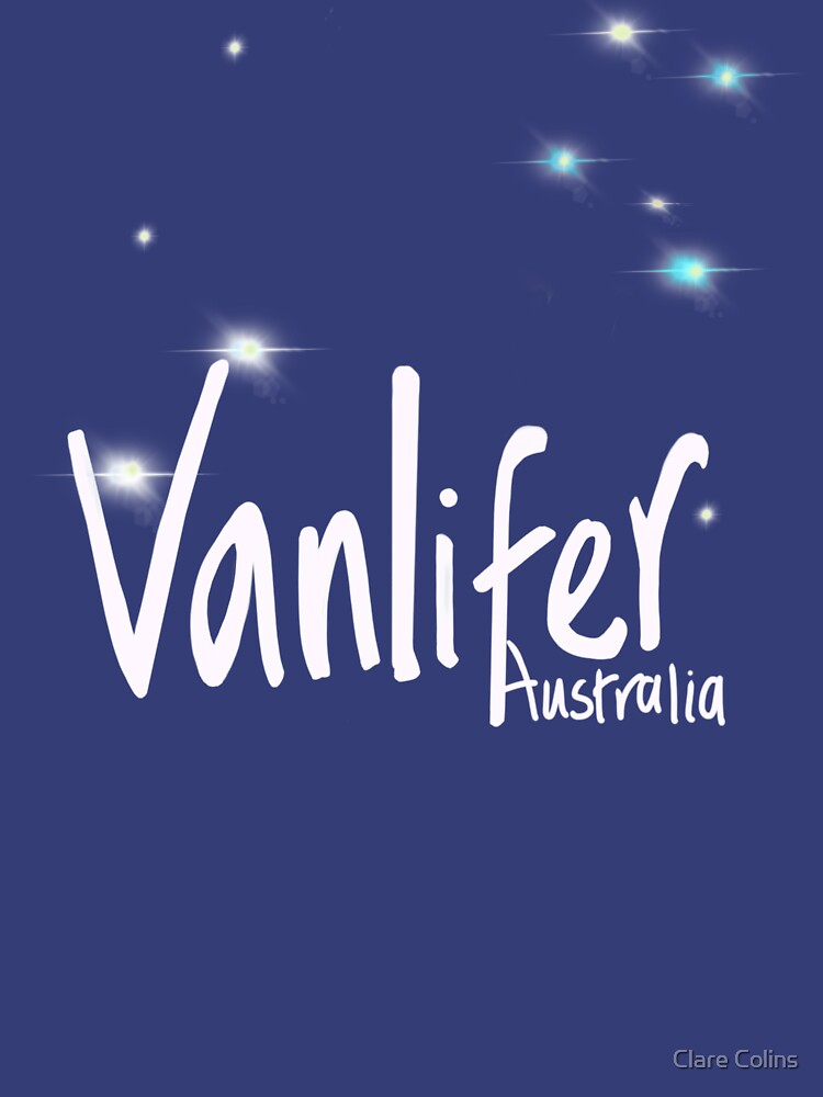 Vanlifer Australia with Southern Cross - choose your colour! by colinsart