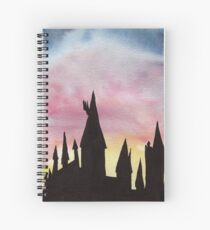 Back to Witches and Wizards Spiral Notebook