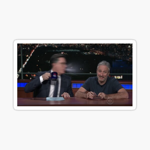 top ten anime betrayals: the late show edition Sticker