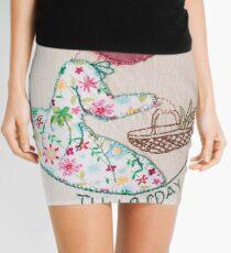 Thursday's Market Day Bonnet Lady Mini Skirt