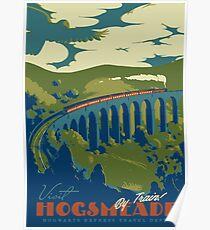 Besuchen Sie Hogsmeade Poster