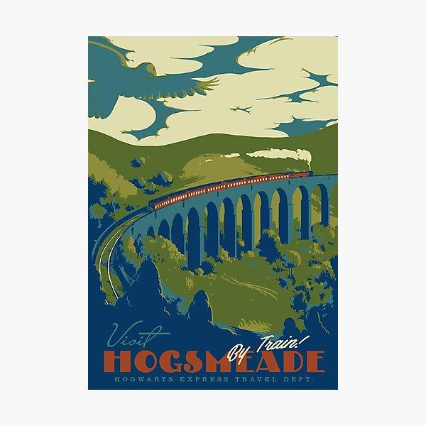Visit Hogsmeade Photographic Print