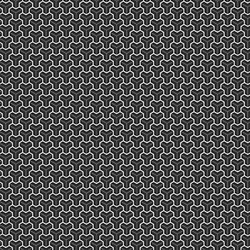 Cube gray 3d Pattern by Spikt