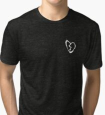 xxxtentacion broken heart symbol Tri-blend T-Shirt