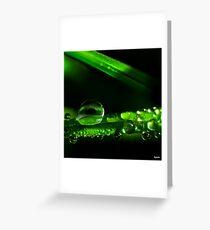 Droplets Greeting Card