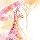 New Born _ Giraffe by Stephie Butler