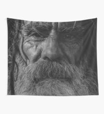 do not look away Wall Tapestry