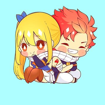 NALU Natsu and Lucy (Fairy Tail) STICKERS ANIME by Caroline-Wang