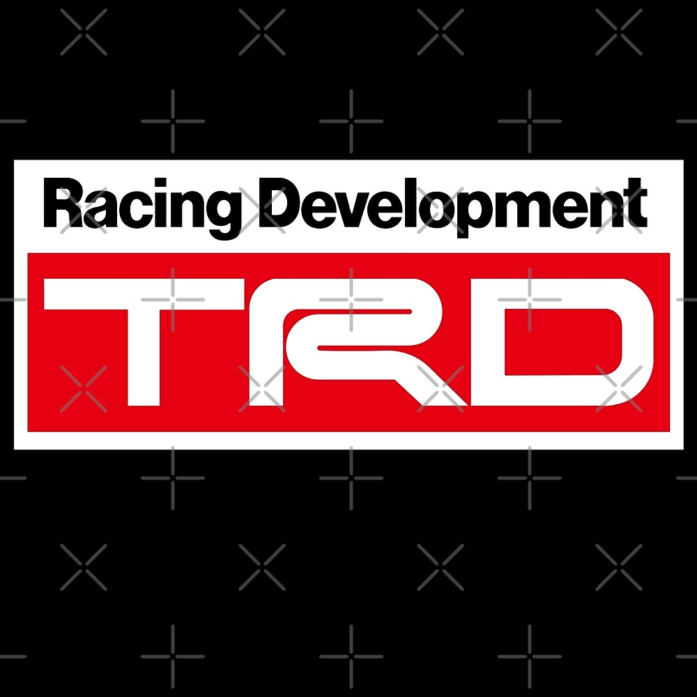 TRD Racing Development Sticker by roccoyou
