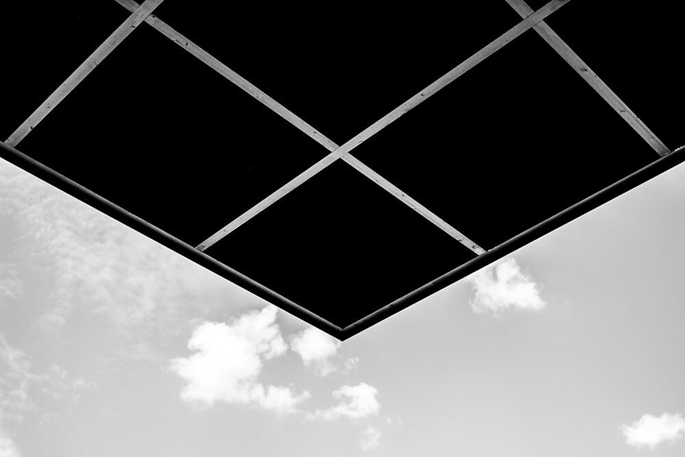 Sky with corner by Fabian Guggenbühl