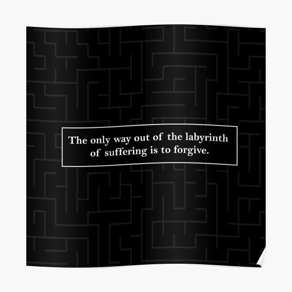 Labyrinth Quote - Looking for Alaska Poster
