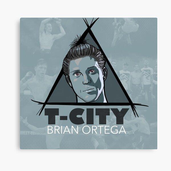 Brian Ortega Ufc Fighter T City art Canvas Print