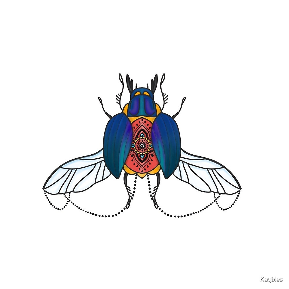 Bug babe by Kaybles