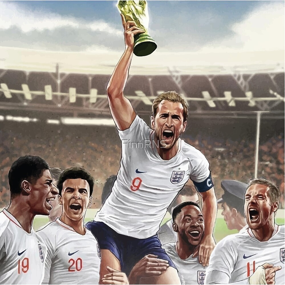 Harry Kane - 1966 World Cup by FinnRNS