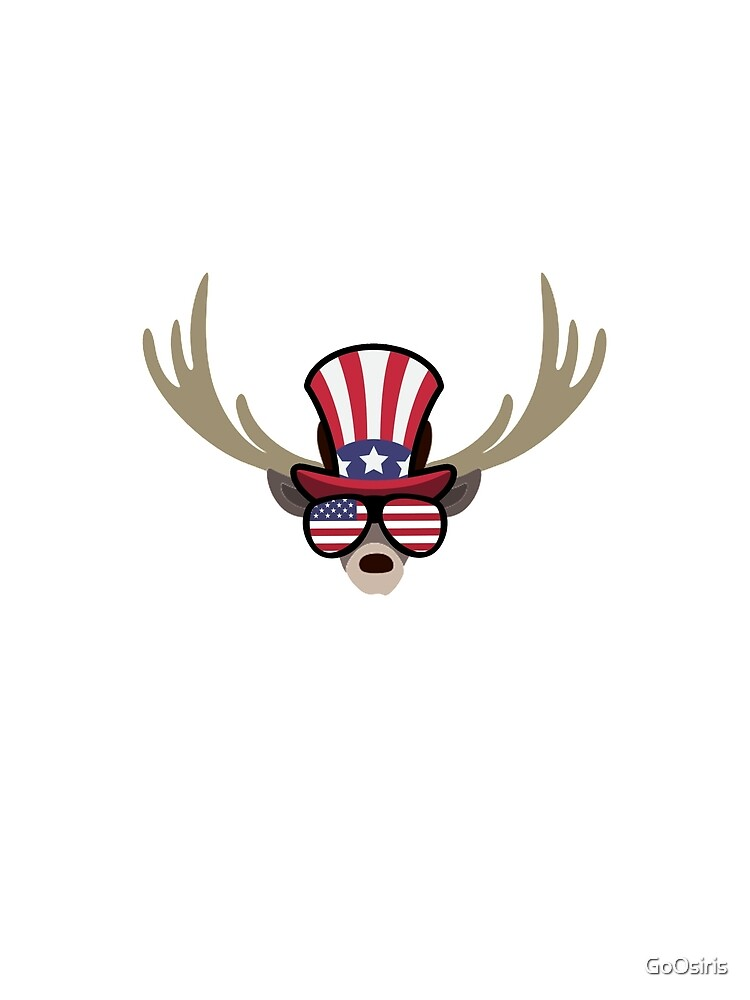 Deer Happy 4th Of July de GoOsiris