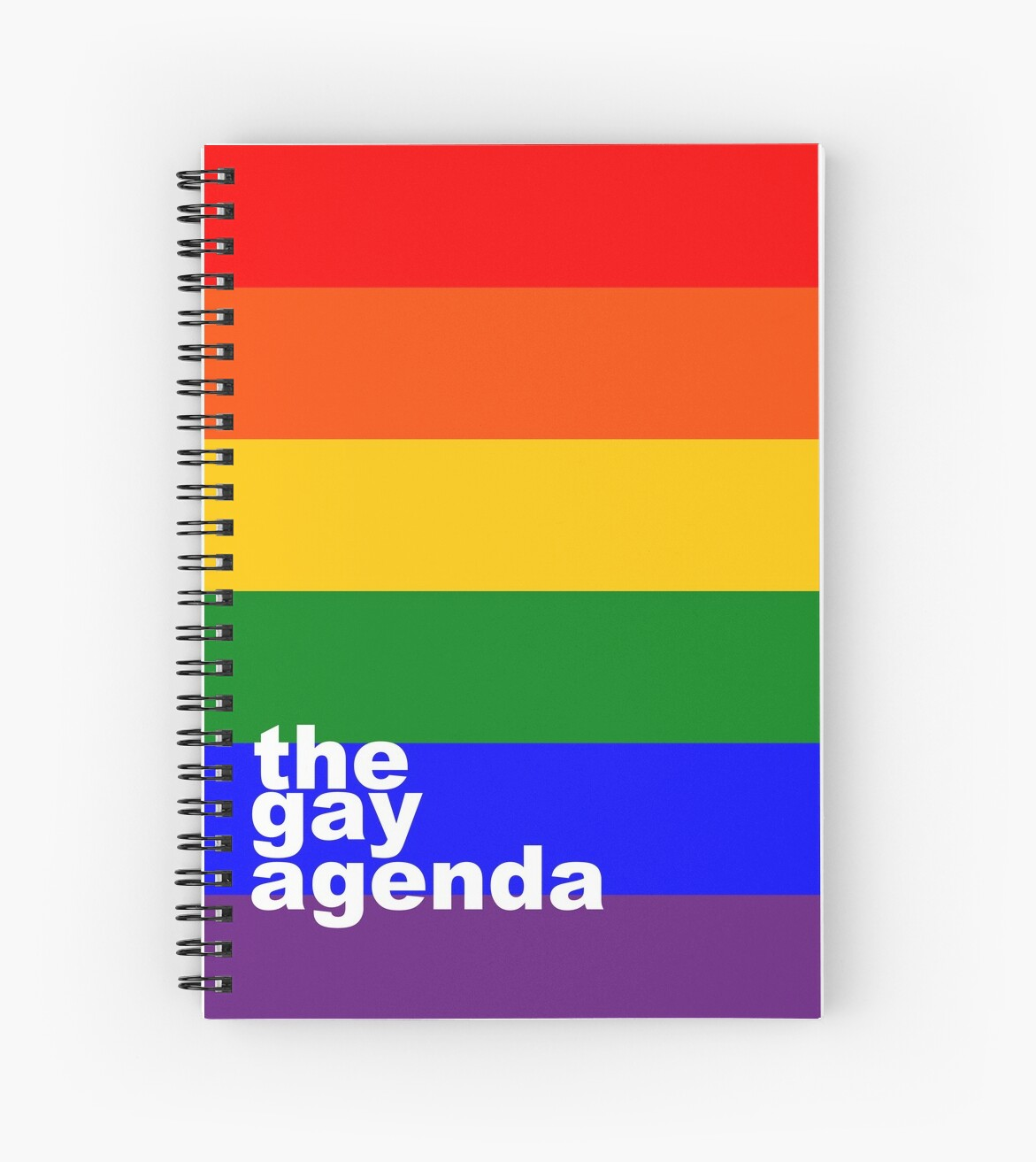 The (rainbow) gay agenda by Mhaddie