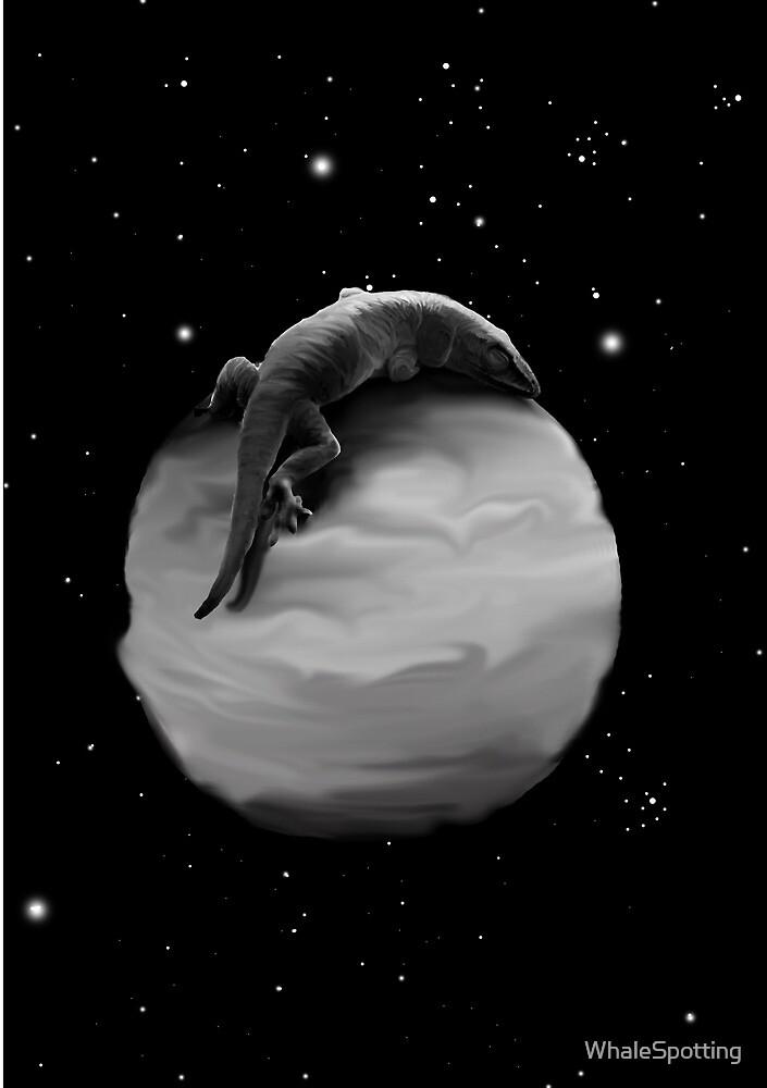 Sleeping Lizard by WhaleSpotting