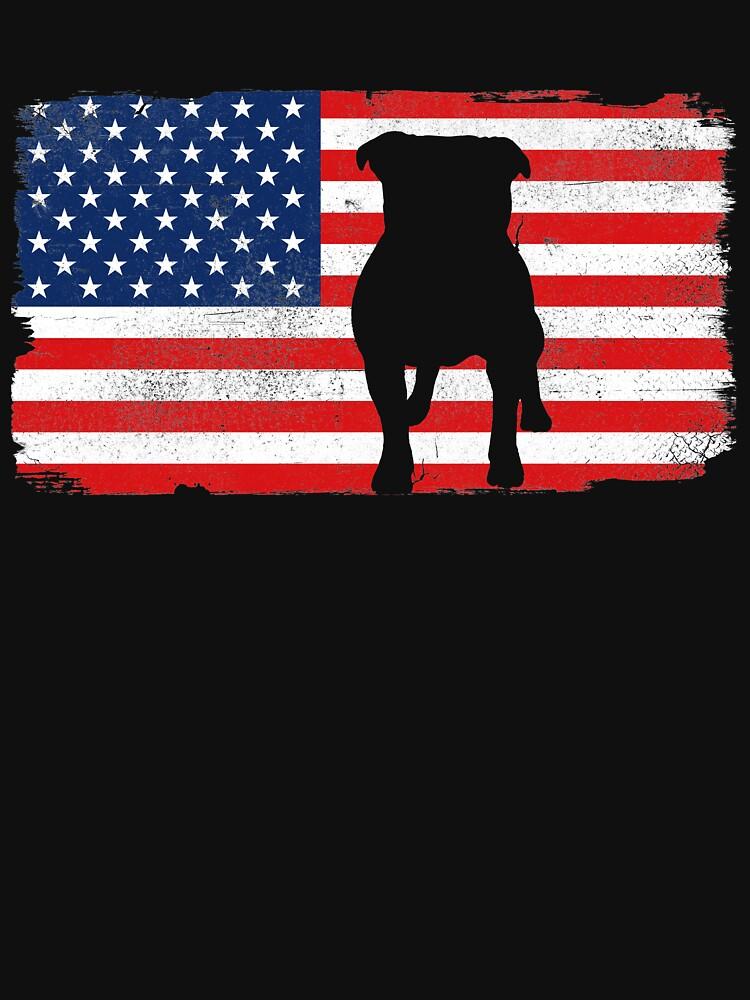 USA American Bulldog by 4tomic