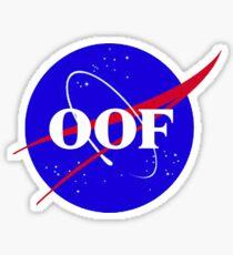 OOF Sticker