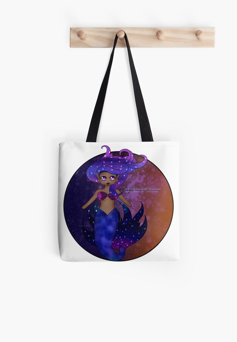 Mermaid Chibi:  Nebula 2 by AuororaArts