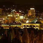 Night Lights of Portland by tego53