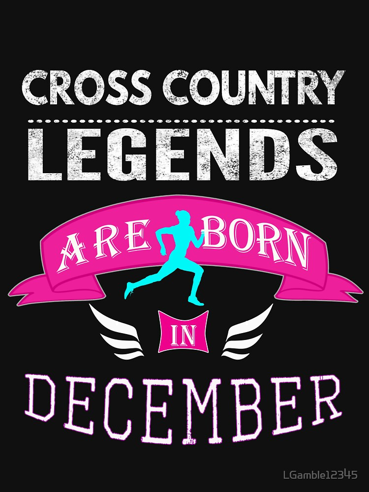 Cross Country legends are born in December by LGamble12345