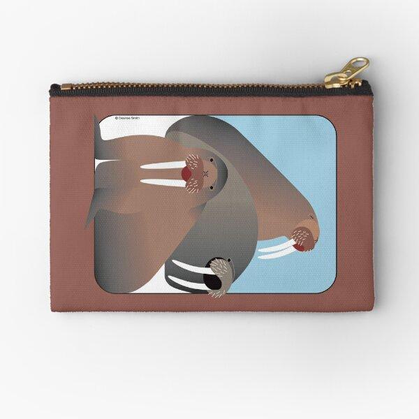 Walrus #2 Zipper Pouch