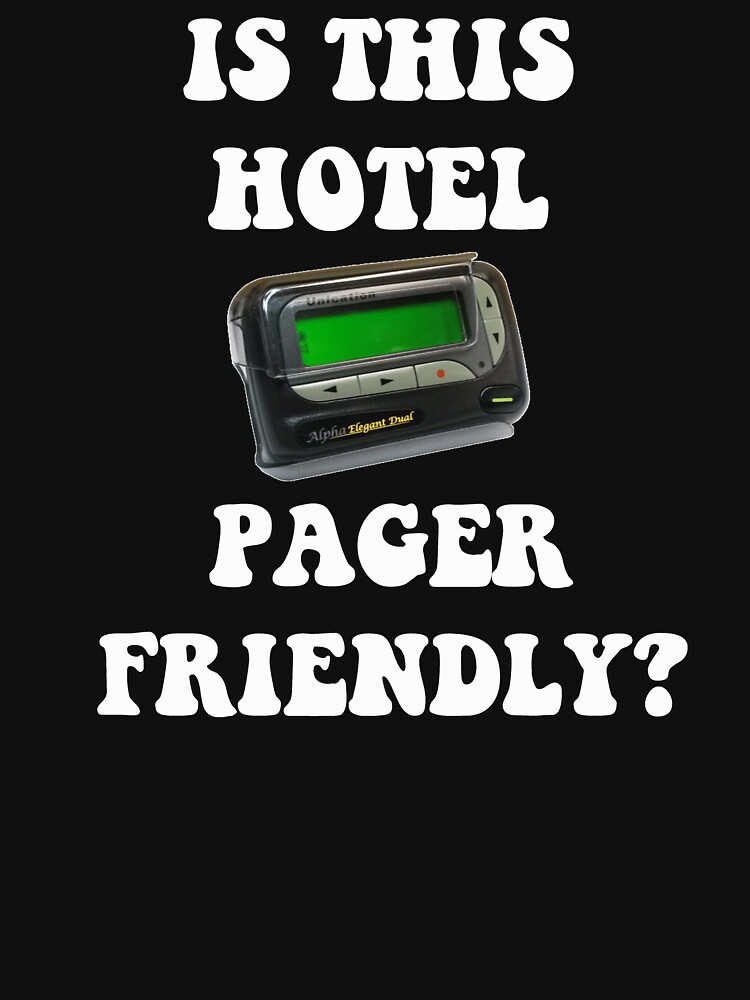 Is This Hotel Pager Friendly? by Mark5ky