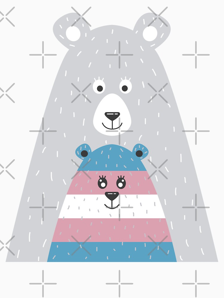 Mama Bear Transgender, Protect Trans Kids by thequeershop