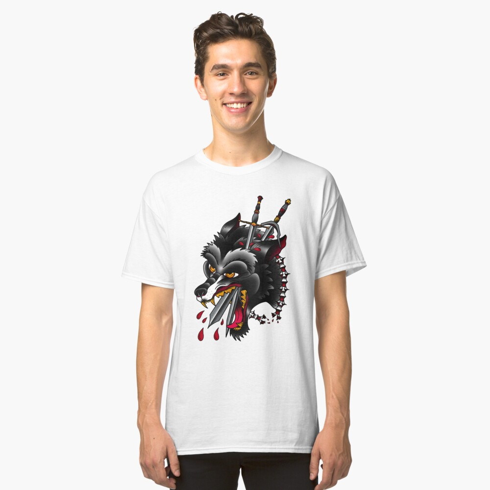 Wild Hunt Classic T-Shirt Front