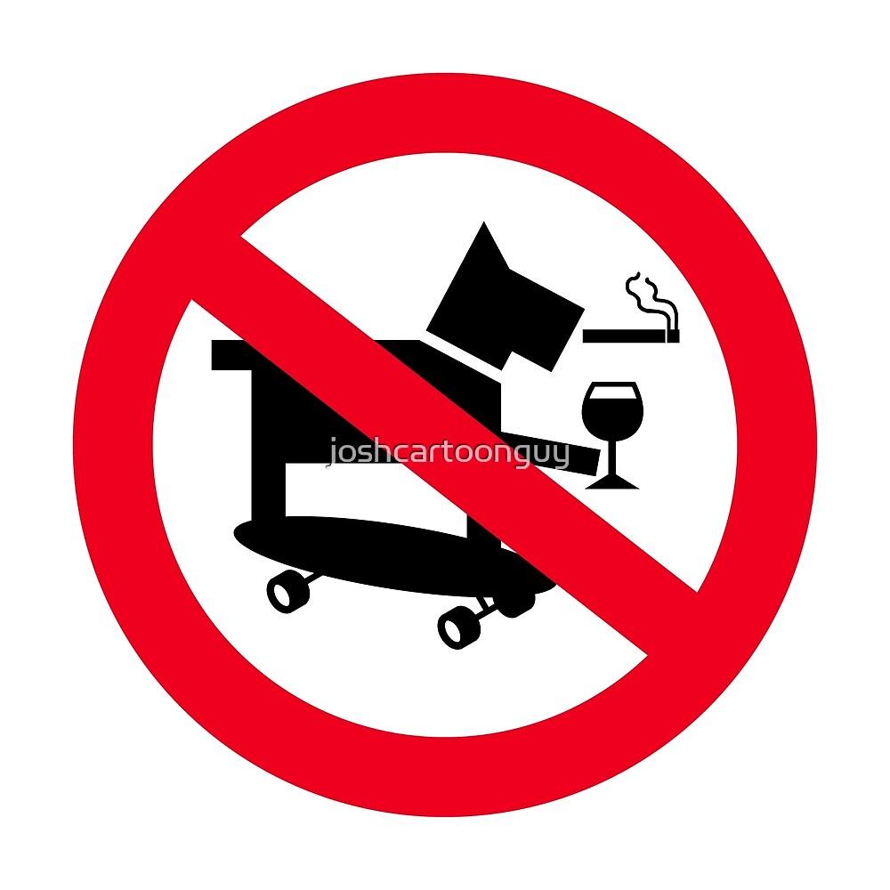 No Skateboarding Dogs Allowed by joshcartoonguy