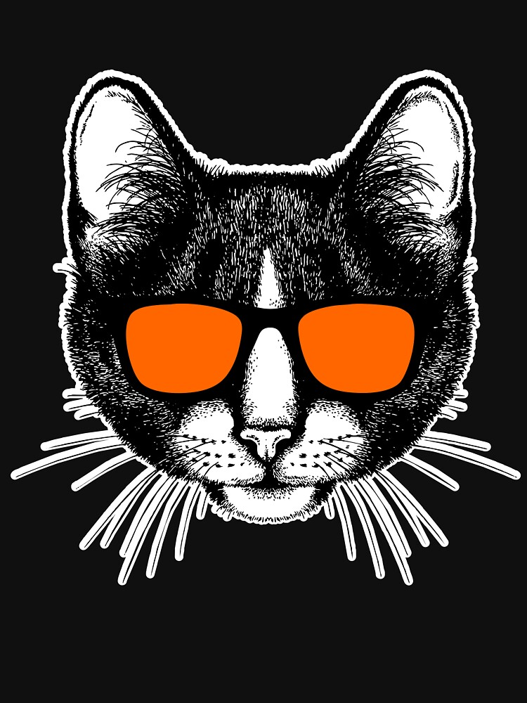 Cat with sunglasses cats by IchliebeT-Shirt