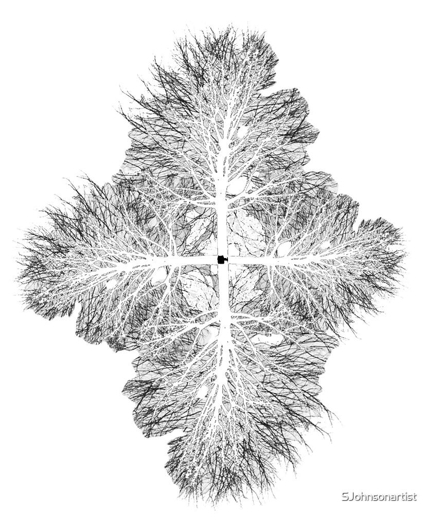 Four Trees by SJohnsonartist