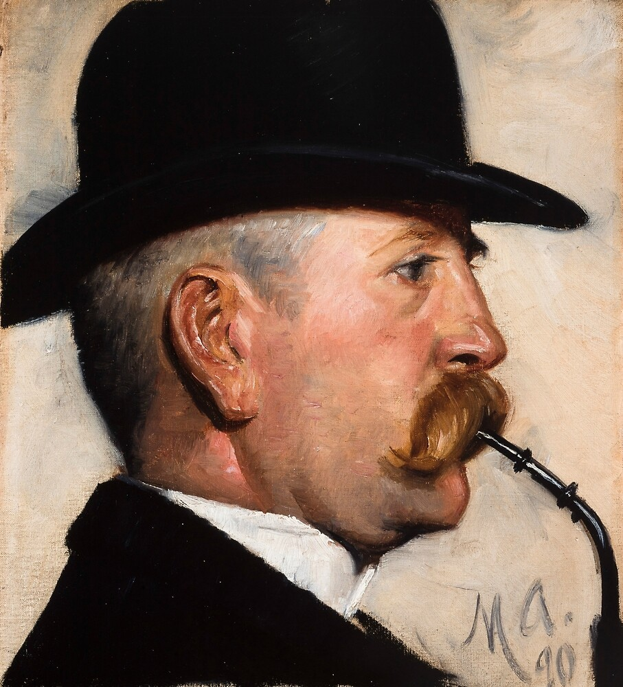 Michael Therkildsen by Michael Ancher by classicartcache